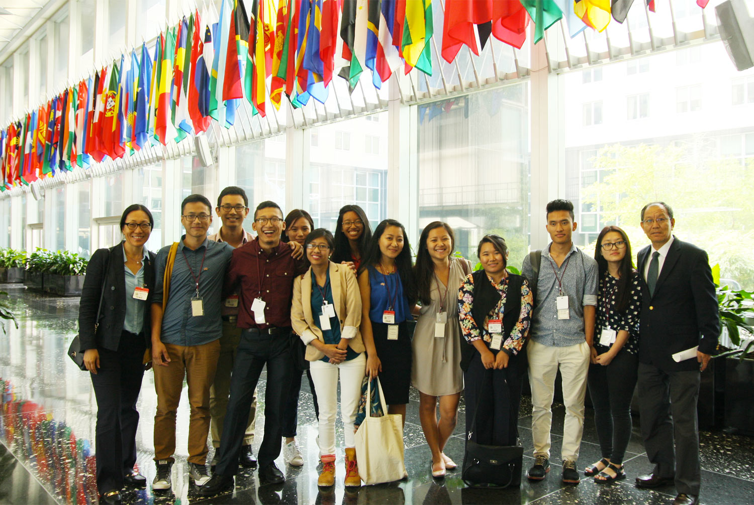 Participants of ICT's 2016 Tibetan Youth Leadership at the US State Department.